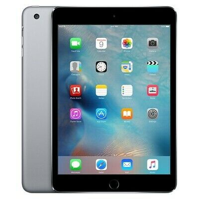 Apple iPad mini 3 128GB, Wi-Fi + Cellular (Unlocked), 7.9in - Space Gray
