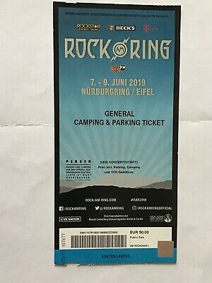 Rock am Ring General Camping Ticket 2019