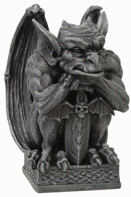 Latex  and fiberglass backer gargoyle  concrete plaster mold new mold