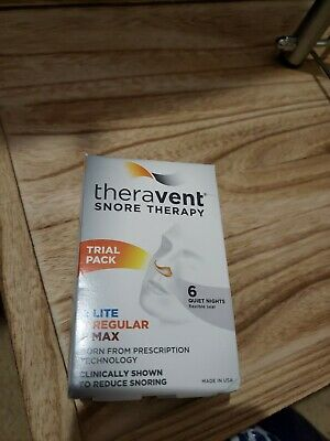 Theravent Trial Pack, 2 Starter, 2 Regular, 2 Max