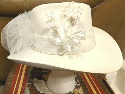 c16b6a6641f3 CHARLIE 1 HORSE Womens Western Cowboy Hat Tooling Around Bone 4X ...