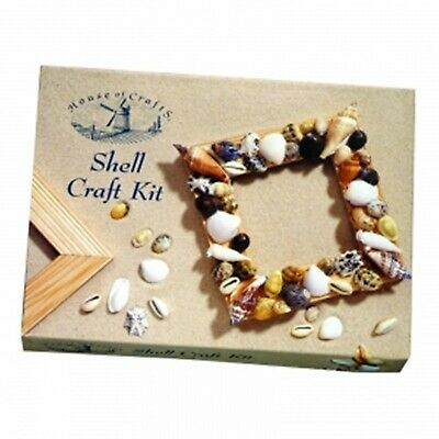 Shell Frame Craft Kit Small Starter Set Everything In The Box age range 14 MK007