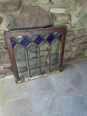 Antique Original Stained Glass Window From A Lehigh Valley (Pa) Inn Circa 1900