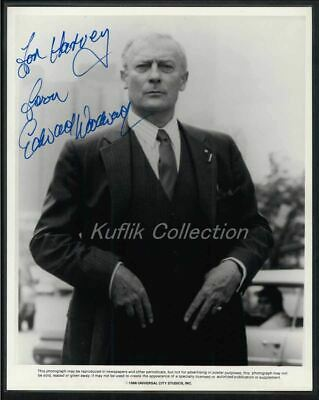 Edward Woodward - Signed Autograph Movie Still - The Equalizer