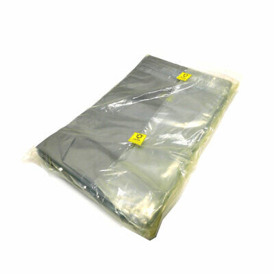 "(100) NEW Desco SCC 1000 Anti-Static Shielded ESD Bags 16"" x 24"" Zip Lock Top L"