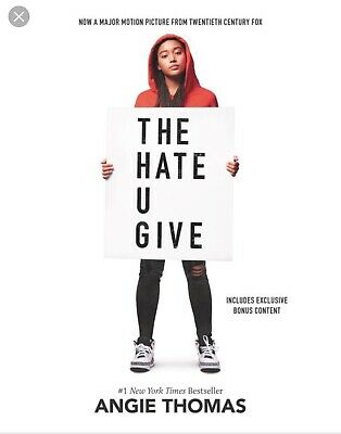THE HATE U GIVE by Angie Thomas📧⚡Email Delivery⚡📧