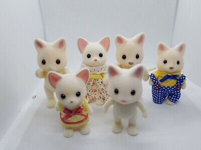Calico Critters Sylvanian Families Jayne Golightly Cat /  Lot of 6