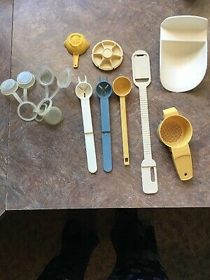 Lot of 13 Vintage Tupperware Party Hostess Gifts Mixed Kitchen Gadgets