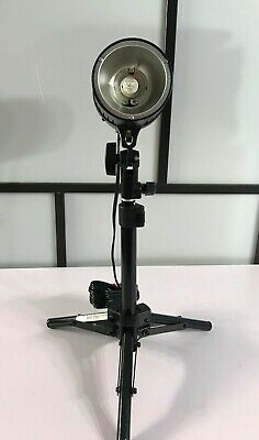 "Promaster SystemPRO 160A Studio Flash w/ Light Stand ""Perfect for Photographers"