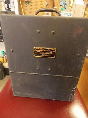 WWII US Signal Corps Frequency Meter TS-175C/U