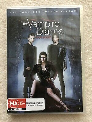 Vampire Diaries : Season 4 (DVD, 2013, 5-Disc Set)