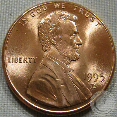 1995-D Unc Lincoln Memorial Penny Nice Coin **Make An Offer**