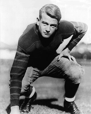 1926 USC JOHN WAYNE Actor Glossy 8x10 Photo College Football Poster Print