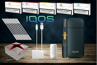 IQOS 2.4 plus Starter Kit Navy + 100 HEETS & Aschenbecher nach Registrierung