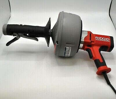Ridgid K-45 Hand Held Corded Auto-Feed Drain Snake Cleaner w/Cable