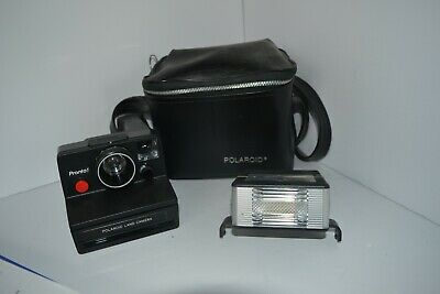 Vintage Polaroid Pronto! RF Instant SX-70 Film Camera with case Light
