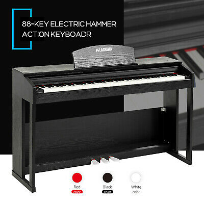 88 Key Keyboard Music Electric Digital Organ Pianos with 3 Pedals+Cover+Stand