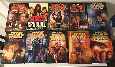 Star Wars Hardcover First Edition Books ~ Lot of 10
