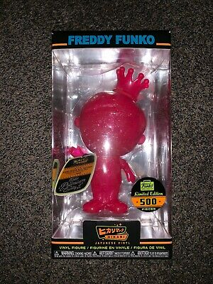 Hikari: Neon Pink Glitter Freddy Funko Limited Edition 500 Pieces