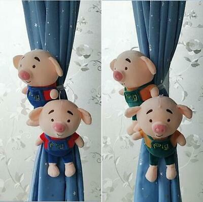 2pcs Baby Bedroom Cartoon Animal Curtain Tieback Buckle Clip Rope Home Decor Toy