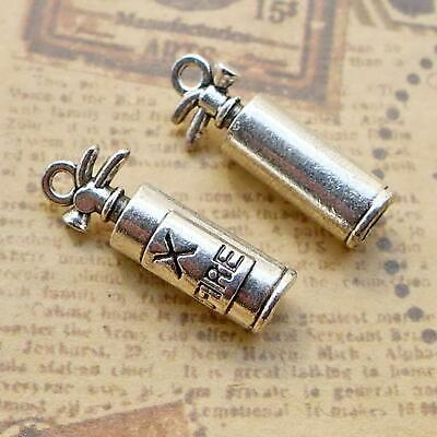 37134 Hot Vintage Silver Alloy Fire Extinguisher Pendant Charms Crafts 30pcs
