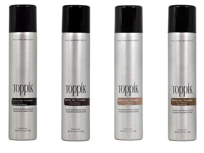 Toppik Fullmore Colored Hair Spray Thickener 5.1 oz / 144g Choose Your Color