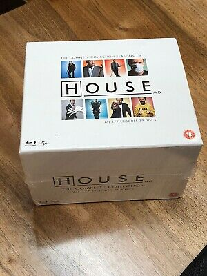 HOUSE M.D. The Complete Series (Blu-ray Box Set, All 8 Seasons)NEW-Free SHIPPING