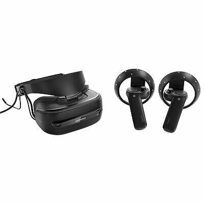 Lenovo Explorer Mixed Reality Headset with Wireless Motion Controllers, 110° FOV