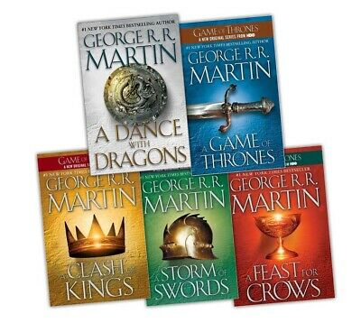 A Song of Ice and Fire (5 books series) (E-B0K&AUDI0B00K||E-MAILED) #21