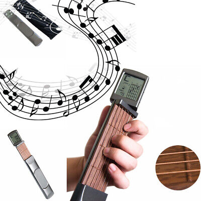 Portable Pocket Ultimate Digital Handy Guitar Chord Trainer Practice Tools