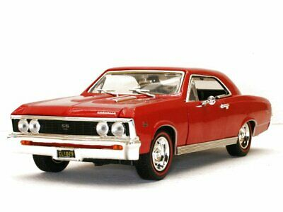 CHEVROLET Chevelle SS 396 - 1967 - red - MotorMax 1:18