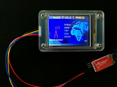MMDVM LCD DISPLAY (Acrylic