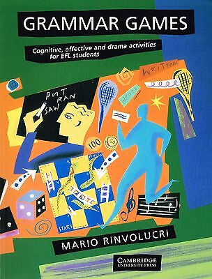 Cambridge GRAMMAR GAMES Cognitive Affective & Drama Activities for Students USED