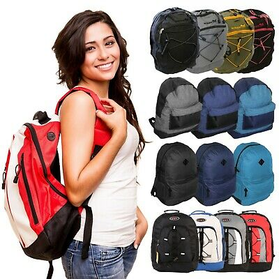 Mens Boys Ladies Large Backpack Rucksack Bag SPORT CAMPING TRAVEL HIKING SCHOOL