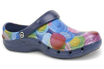 Toffeln Ezi Klog Pro Air 0815 - Circle Pattern - Womens Washable Shoes