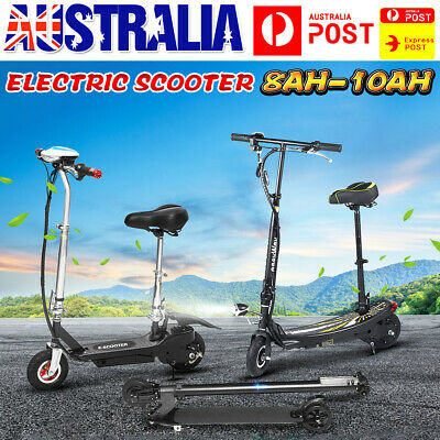 350W 8/10Ah Portable Foldable Electric Scooter Commuter Bike Adult Kids w/ LED