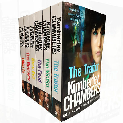 Kimberley Chambers Collection 6 Books Set Traitor Victim Betrayer Born Evil PACK