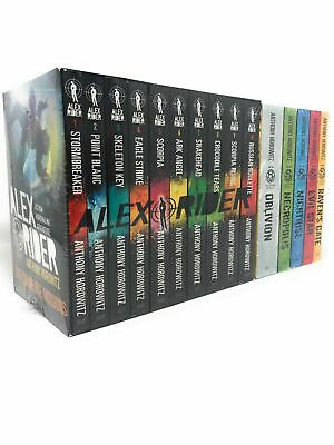 Anthony Horowitz 15 Books Collection Alex Rider & Power of Five Series Set NEW