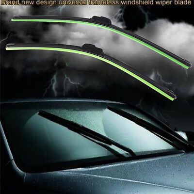 """18/"""" Stylarize Pair Of Front Car Windscreen Windshield Wiper Blades Wipers 16/"""""""