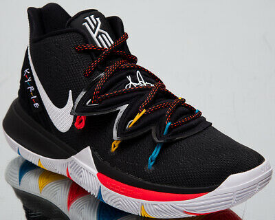 Nike Kyrie 5 Friends Mens Irving Black Shoes Basketball Sneakers AO2918-006