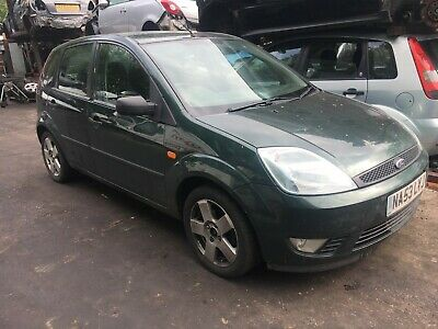 Ford Fiesta Zetec 2003 1.4 Petrol Green 5 Door Breaking For Spare-  Wheel Nut
