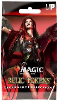 Magic The Gathering Ultra Pro Legendary Collection 1 Relic Tokens single PACKS