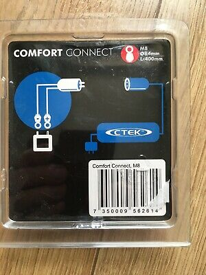CTEK Comfort Connect  Quick Connect Cable, M8 8.4mm Eyelets 400MM LENGHT