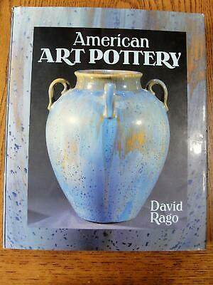 American Art Pottery Book David Rago Autographed Book