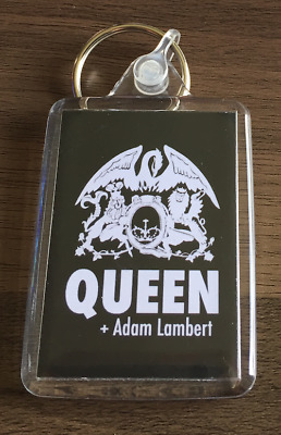 QUEEN + ADAM LAMBERT KEYRING - Rock Band - Don't Stop Me Now, Bohemian Rhapsody