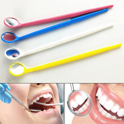 Long Handle Dental Mouth Mirror Bright Teeth Cleaning Inspection Oral Care Wond