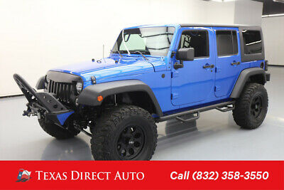 2014 Jeep Wrangler Willys Wheeler Texas Direct Auto 2014 Willys Wheeler Used 3.6L V6 24V Automatic 4WD SUV