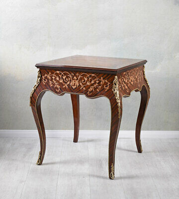 Side Table Game Console Folding Antique Verwandlungstisch Baroque