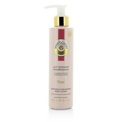 Roger & Gallet Rose Body Lotion (with Pump) 200ml/6.6oz Womens Perfume