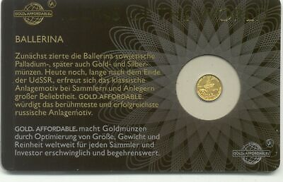 Gold  Affordable - Icons of the World - Ballerina 2016, 9999 Gold (5554)